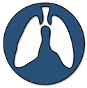 lung clinic logo - lungs in circle