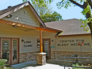 lung clinic for sleep medicine, entry